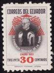 Stamps America - Ecuador -  CARDENAL DE LA TORRE