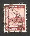 Stamps : Asia : Bangladesh :  estación de gas de bangladesh