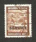Stamps : Asia : Bangladesh :  mohastan garh