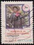 Stamps Ecuador -  INDIO ECUATORIANO