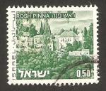 Stamps : Asia : Israel :  vista de rosh pinna