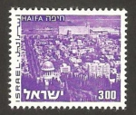 Stamps : Asia : Israel :  vista de haifa