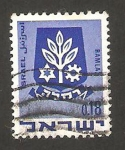 Stamps of the world : Israel :  escudo de la ciudad de ramla