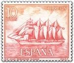 Sellos del Mundo : Europa : España :  buque