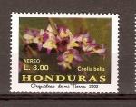 Stamps Honduras -  COELIA  BELLA