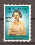 Stamps Honduras -  CLEMENTINA  SUAREZ