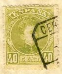 Sellos de Europa - España -  Alfonso XIII Cadete