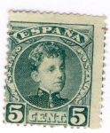 Stamps Europe - Spain -  Alfonso XIII Cadete