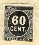 Stamps Spain -  Impuesto de Guerra 1898-99