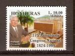 Sellos de America - Honduras -  CONGRESO  NACIONAL