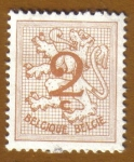 Stamps Belgium -  HERALIDIC LION