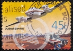 Stamps : Oceania : Australia :  Aviación