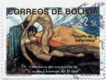 Stamps of the world : Bolivia :  Centenario del nacimiento de Cecilio Guzman de Rojas