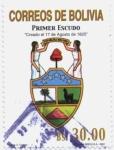 Stamps America - Bolivia -  Simbolos Patrios de Bolivia