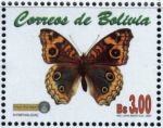 Stamps Bolivia -  Mariposas e Insectos