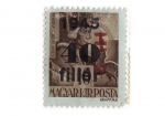 Stamps : Europe : Hungary :  Padre