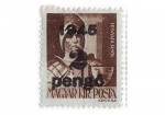 Stamps : Europe : Hungary :  Caballero