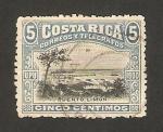 Sellos del Mundo : America : Costa_Rica : vista de puerto limón
