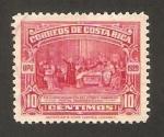 Sellos del Mundo : America : Costa_Rica : conmemoración del primer congreso postal panamericano