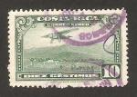 Sellos del Mundo : America : Costa_Rica : aterrizaje en san jose
