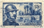Stamps France -  Colonel Driant