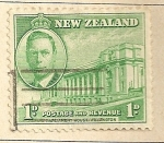 Stamps Oceania - New Zealand -  Casa del Parlamento Wellington