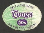 Stamps Oceania - Tonga -  melón de agua