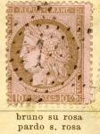 Stamps Europe - France -  Republica Francesa Ed 1873