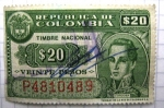 Stamps of the world : Colombia :  Cordoba