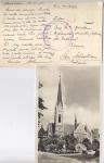 Sellos de Europa - España -  1938 GUERRA, CENSURA MILITAR DE GUIPUZCOA POSTAL DE ESTOCOLMO, SUECIA A SAN SEBASTIÁN, STOCKHOLM. OS