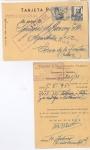 Sellos del Mundo : Europa : España : GUERRA CIVIL CENSURA TARJETA POSTAL FERROCARRILES ANDALUCES, MÁLAGA - CÁDIZ 1938.