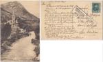 Sellos de Europa - España -  CENSURA MILITAR, POSTAL CIRCULADA ELORRIO, VIZCAYA - SAN SEBASTIÁN, 1938.
