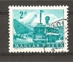 Sellos de Europa - Hungría -  Transportes y Comunicaciones.- Serie Basica.