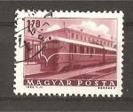 Stamps Hungary -  Transportes y Comunicaciones.- Serie Basica.