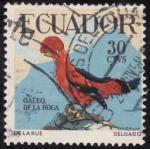 Sellos de America - Ecuador -  GALLO DE LA ROCA