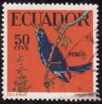 Sellos de America - Ecuador -  MIRLO