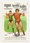Stamps Cambodia -  México-86