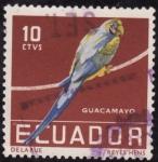 Stamps Ecuador -  GUACAMAYO