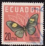 Stamps Ecuador -  GRAPHIUM PAUSIANUS
