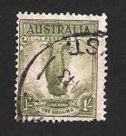 Stamps : Oceania : Australia :  pavo real