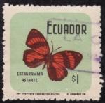 Stamps Ecuador -  CATAGRAMMA ASTARTE