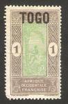 Stamps : Africa : Togo :  trepando un árbol