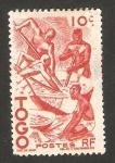 Stamps : Africa : Togo :  manioc