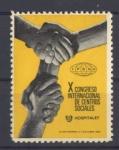 Stamps Spain -  HOSPITALET VIÑETA DEL X CONGRESO INTERNACIONAL DE CENTROS SOCIALES, 1969.