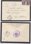 sellos de Europa - España -  1939 SOBRE CON CENSURA MILITAR DE MADRID A SAN SEBASTIÁN, TABACALERA 2.