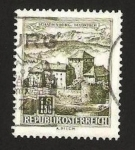 Sellos de Europa - Austria -  schattenburg en feldkirch