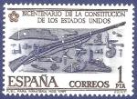 Stamps Spain -  Edifil 2322 Fusil para infanteria 1 NUEVO