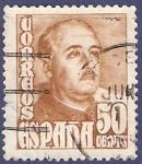 Stamps Spain -  Edifil 1022 General Franco 0,50
