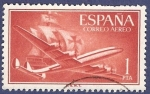 Stamps Spain -  Edifil 1172 Superconstellation 1 aéreo