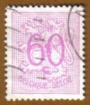 Sellos de Europa - Bélgica -  HERALIDIC LION